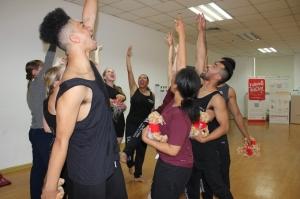 Post show team spirit in Beijing