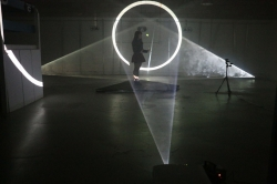 A still from the Hyperspace performance