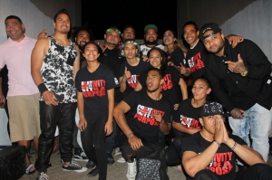 ICON Tonga youth pictured before a performance.