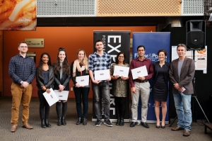 An image of all Exposure winners.