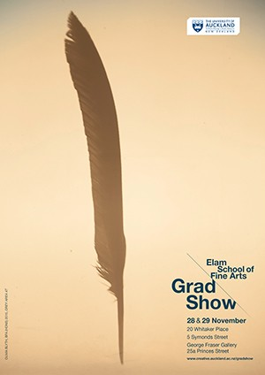 Image of a cultural performance work from the Elam GradSshow 2013