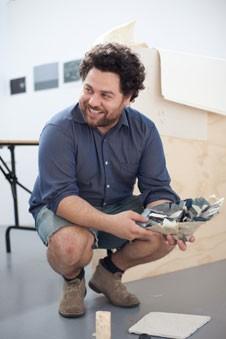 Profile image of Roman Mitch in the Elam studios.