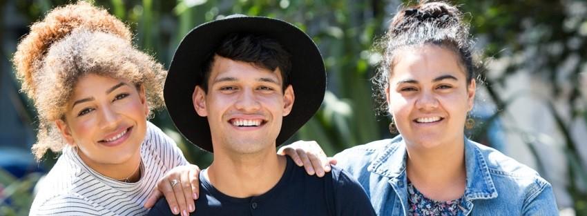 Naawie, Albert and Ara the Elam Tuākana mentors for 2017.